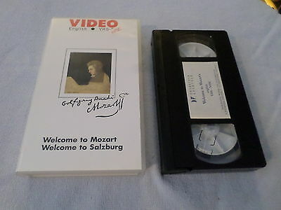 Welcome To Mozart - Welcome To Salzburg - (Vhs)