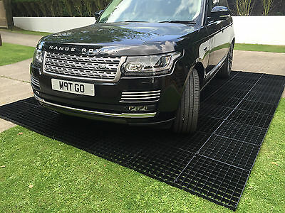 Driveway Grid 8 Pack Click Interlocking Eco Gravel Drive Drainage Paving Blocks