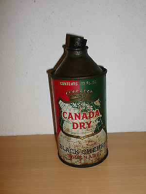 Old Canada Dry Soda Black Cherry Can