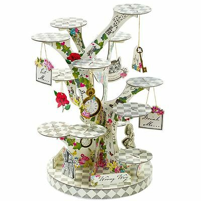 Alice in Wonderland Tree Shaped Cake Stand Treat Stand Party