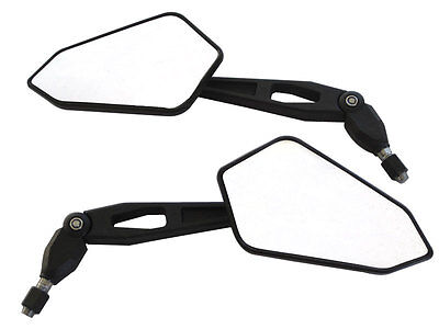 Motorbike Wing Mirrors Street Bike To Fit: KTM Supermoto 690 640 - PAIR