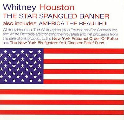 Whitney Houston : The Star Spangled Banner CD