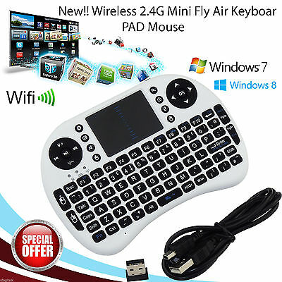 2.4Ghz Mini Wireless Keyboard Fly Air Mouse Touchpad laptop for Android TV BOX