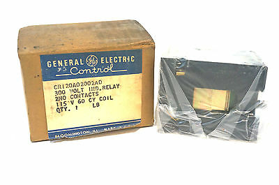 New General Electric Cr120A02002Ad Relay