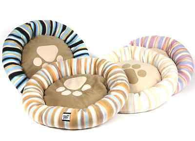 DELUXE Soft Washable Dog Pet Warm Basket Bed Cushion with Fleece Lining • EUR 7,69