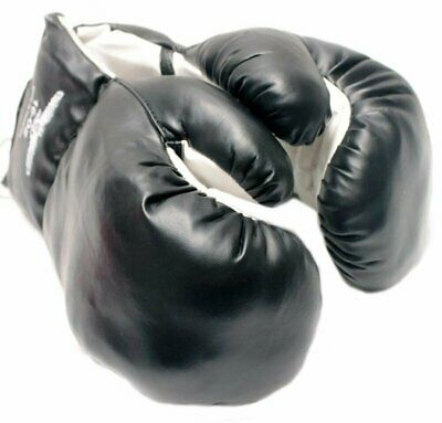 1 Pair of New Boxing / Punching Gloves and Fitness Training : Black