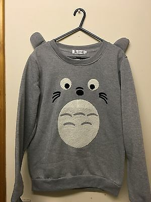 My neighbour totoro ear Studio Ghibli Sweater sweatshirt jumper hoodie Christmas