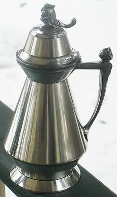 Antique Silverplated Syrup Pitcher Meriden Britannia Pat. July 1, 1873