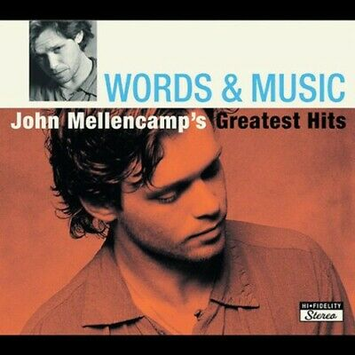Mellencamp, John : Words & Music: John Mellencamps Greatest Hits CD