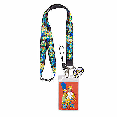 The Simpsons Family Lanyard