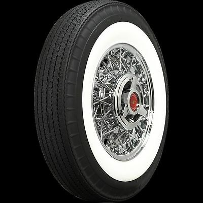 "650R13 American Classic 2 1/4"" Whitewall Radial (Bias Look)  Tires-Each"