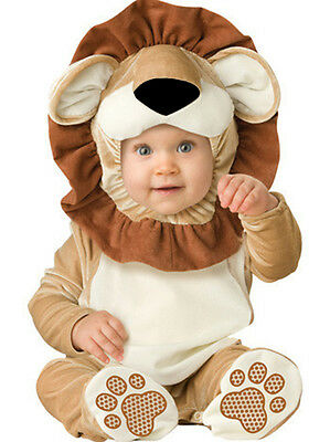 Infant Baby Lovable Lion Costume Anime Cosplay Toddlers Xmas Halloween Costume
