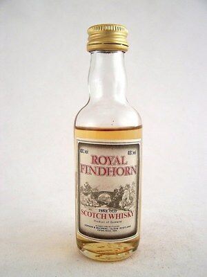 Miniature circa 1976 ROYAL FINDHORN WHISKY Isle of Wine