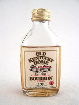 Miniature circa 1979 OLD KENTUCKY HOME BOURBON WHISKEY Isle of Wine