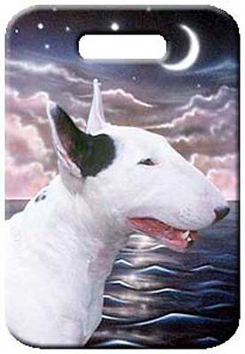 Set of 2 Bull Terrier Luggage Tags