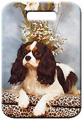 Set of 2 Cavalier King Charles Spaniel Luggage Tags