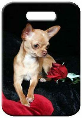 Set of 2 Chihuahua - Smooth Luggage Tags