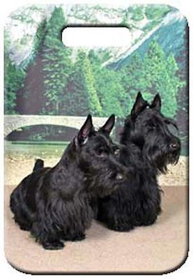 Set of 2 Scottish Terrier Luggage Tags