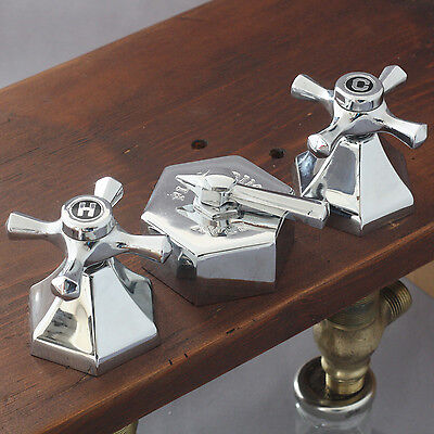 Chrome Art Deco Bidet Set, Circa 1930