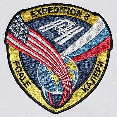 Aufnäher Patch Raumfahrt ISS Mission - Expedition 8 ..............A3223