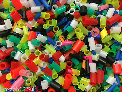 200 PVC/Silicone Float Sleeves - Assorted Sizes & Colours.Buy 2 get a Free pack.
