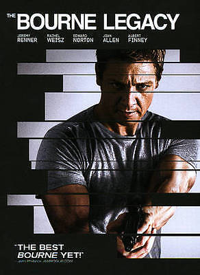 The Bourne Legacy DVD