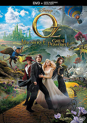 Oz the Great and Powerful (Blu-ray + Dig Blu-ray