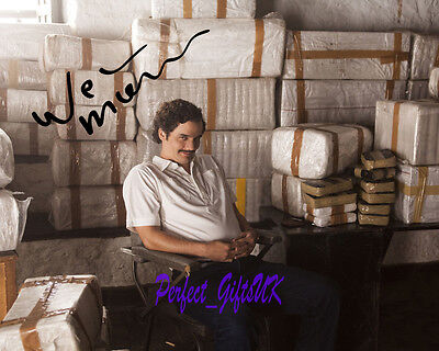 Wagner Moura Pablo Escobar Narcos SIGNED AUTOGRAPHED 10X8 PRE-PRINT PHOTO