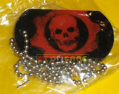 GEARS OF WAR Promo Plate Necklace Piastrina - Gadget ○○○○○ NUOVO