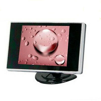 3.5'' TFT LCD Color Screen AV input Car Rearview Monitor DVD VCR New