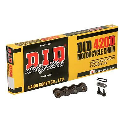 DID Standard Roller Motorcycle Chain 420D Pitch 102 Split Link