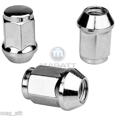 "20 Chrome Wheel Nuts 1/2 "" UNF Jeep Cherokee Commander J XJ KJ KK"