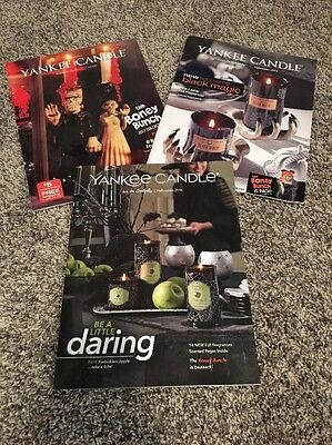 *FINAL LISTING* Yankee Candle Boney Bunch 2013, 2015 & 2016 Catalogs