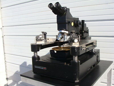 """Wentworth Cascade Microtech MP-2020 8"""" Chuck Semi-Auto Analytical Probe Station!"""