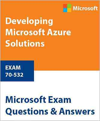 70-532 - Developing Microsoft Azure Solutions