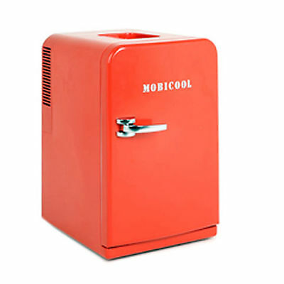 Sweden Dometic Mobicool 15L, 507oz Mini Portable Refrigerator Red 220V AC,12V DC