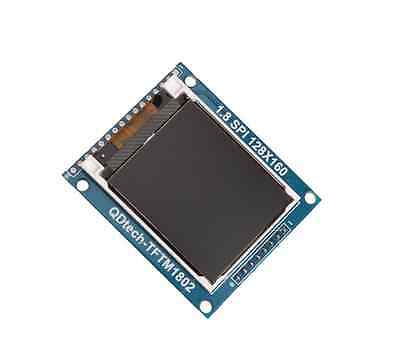 2PCS 1.8 Inch Mini Serial SPI TFT LCD Module Display with PCB Adapter ST7735B IC