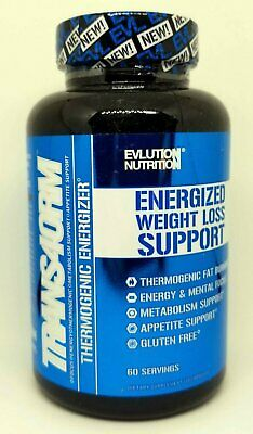 EVLUTION NUTRITION TRANS4ORM EVL FAT BURNER FOCUS EVL 120 Caps/60 Servings