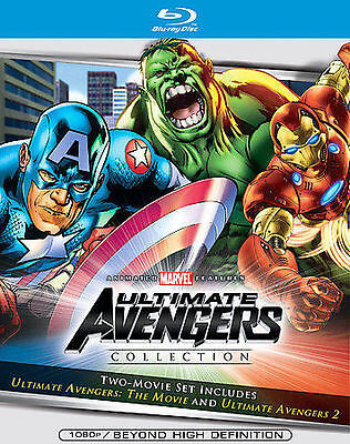 Ultimate Avengers Collection [Blu-ray] Blu-ray