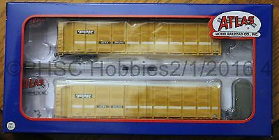 N Scale - ATLAS 50 002 317 TTX Articulated Auto Carrier BTTX # 880260