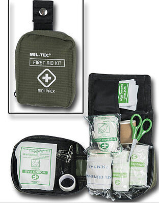 First Aid Pack Midi, Erste Hilfe, Camping, Outdoor, Military      -NEU-