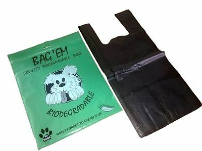 Bag Em Scented Biodegradable Dog Poo / Waste Bags x 50