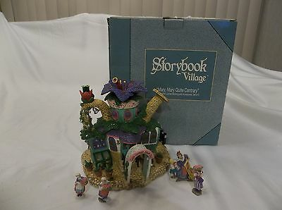 """Department Dept 56 Storybook Village """"mary, Mary Quite Contrary"""" Lighted House"""