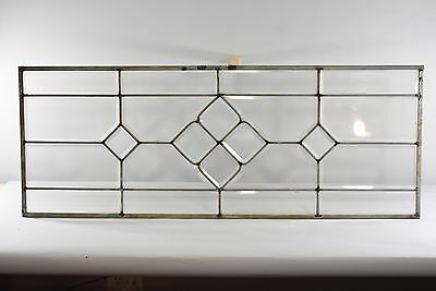 Antique American Beveled Glass Door Panel Window
