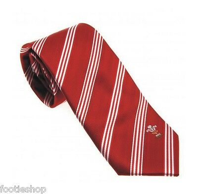 Wales Rugby Welsh RU Tie New Official Merchandise (ST)