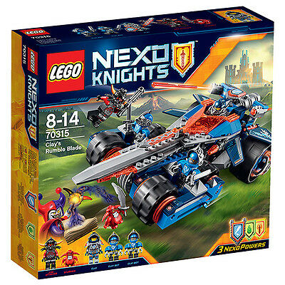 NEW LEGO NEXO KNIGHTS™ Clay's Rumble Blade 70315