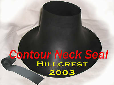 Scuba Diving Dry Suit Medium / Large Contour Neck Seal