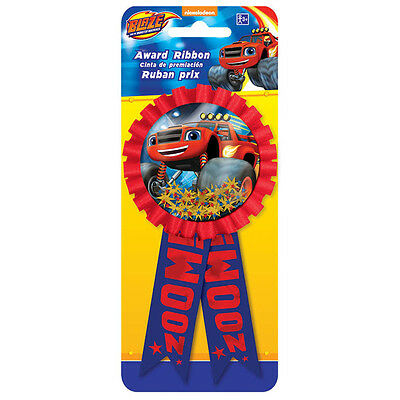 Blaze and the Monster Machines Party Favor Prize Confetti Award Ribbon Badge