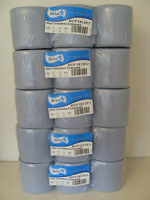 30 rolls 5x6pack blue rolls,centre feed,paper towel,industrial roll,paper tissue