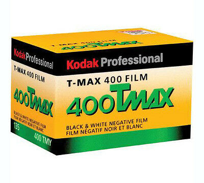 Kodak TMY-36 TMAX 400 Black and White Negative 35mm Film FRESH DATE